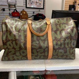 729decd3cef Louis Vuitton Bags - Louis Vuitton Graffiti Stephen Sprouse Keepall 50